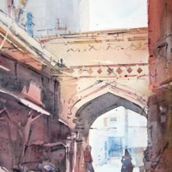 Amritsar Arch<br>8 x 12 - $290