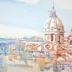 Rome Duomos, Summer<br>12 x 8 - $290