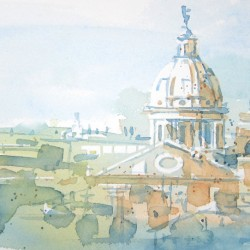 Rome Duomos, Spring<br>12 x 8 - Sold