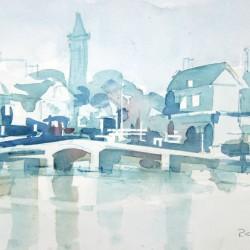 Kees Van Aalst Village<br>12 x 8 - $290