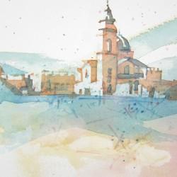 Santa Maria de Valdigna<br>6 x 8 - Sold