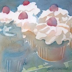 Cupcake Case...Mmmmm<br>7 x 7 - Sold