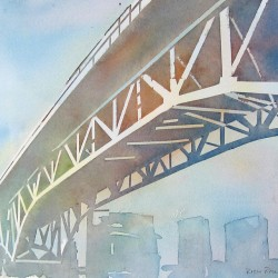 Granville Bridge Sunset<br>10 x 8 - $240