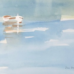 Britannia Rowboat<br>7.5 x 7.5 - Sold
