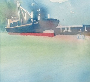 Mist at Squamish Docks - Sold