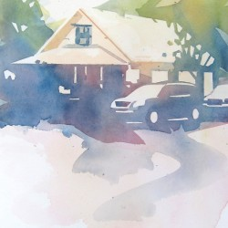 Ketchum White House<br>9.5 x 13 - $330
